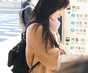 aesthetic, korean girl, and love image