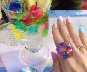 soda, かわいい, and キラキラ image