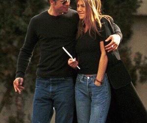 Jennifer Aniston, brad pitt, and love image