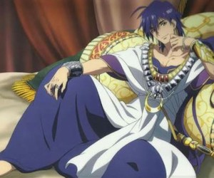 magi, anime, and Sinbad image