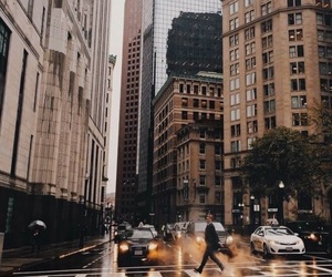 city, aesthetic, and brown image
