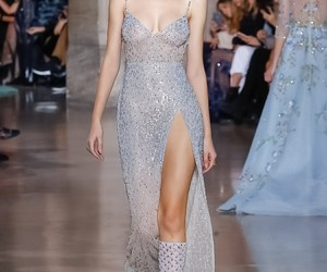 dress, Georges Hobeika, and haute couture image