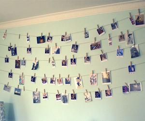 hanging, photos, and room image