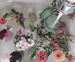 color, alternatif, and flowers image