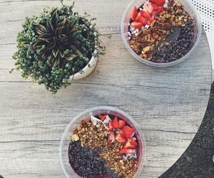 acai, berries, and bowl image