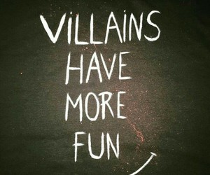 quotes, villain, and fun image