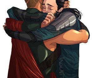 thor, Marvel, and loki image