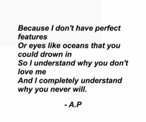 beautiful eyes, im not perfect, and this is why image