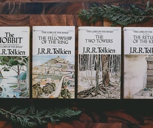 books, lord of the rings, and tolkien image