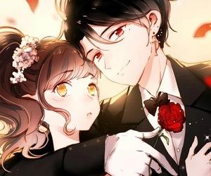 anime couples and manhua image