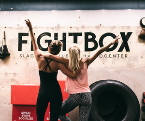 fashion, girl, and workout image