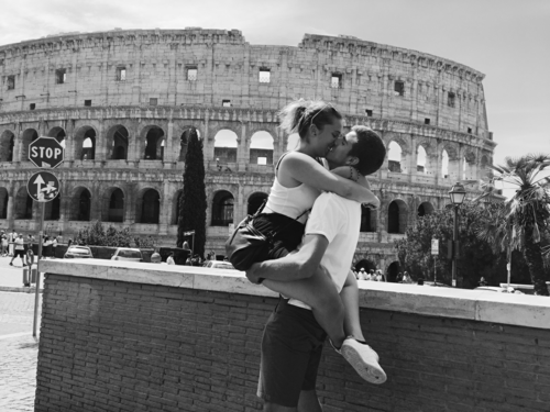 couple, love, and rome image