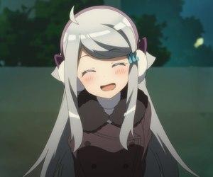 anime, cute girl, and girl image