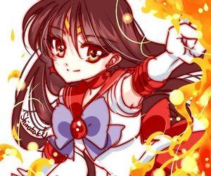 anime, anime girl, and sailor mars image