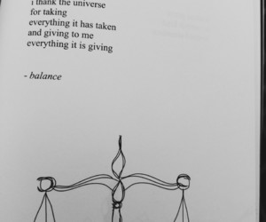 balance, black and white, and book image