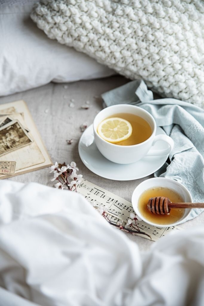 cozy, drink, and notes image
