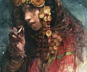 paint, peinture, and smoke image