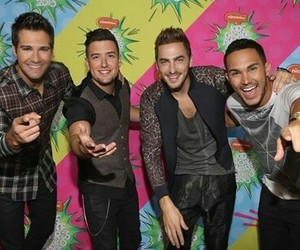 boys, carlos pena ‏, and kendall schmidt image