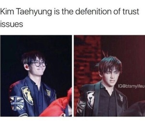 funny, korean, and trust issues image