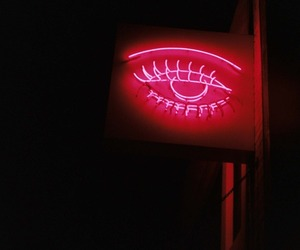neon, pink, and signs image