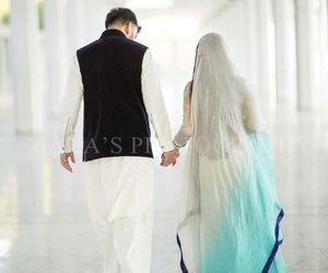 bridal, marriage, and holding hand image