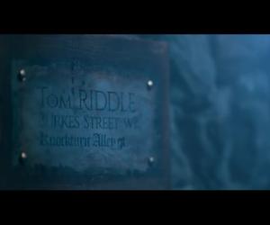 harrypotter, potter, and riddle image