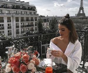 paris, luxury, and breakfast image