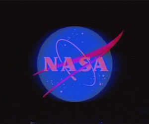 aesthetic, nasa, and 80s image