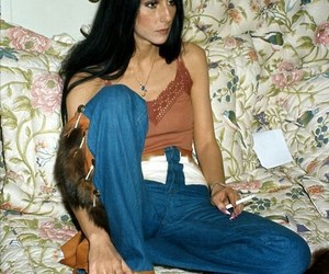 cher, vintage, and 70s image
