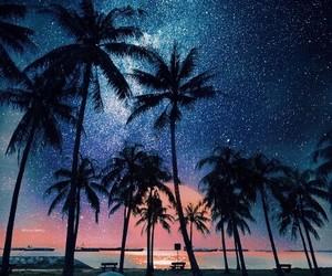 stars, summer, and sea image