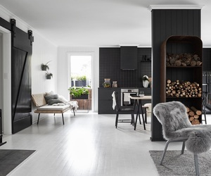 bedroom, flower, and kitchen image