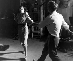 dance, couple, and love image