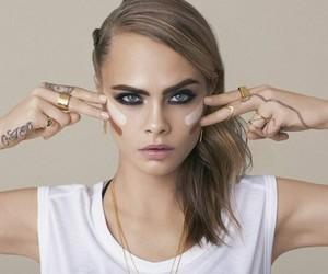 model, cara delevingne, and rimmel london image