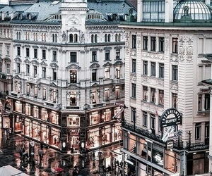 city, travel, and vienna image