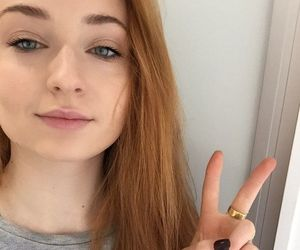 sophie turner, game of thrones, and got image