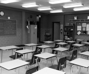 classroom and teen wolf image