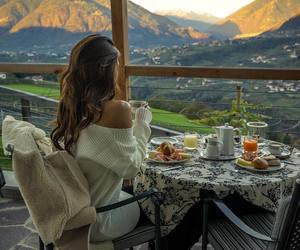 breakfast and nature image