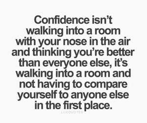 confidence, quote, and life image