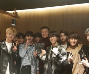 kpop, JYP, and Chan image