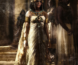 cleopatra, egypt, and assassin's creed image