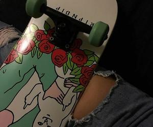 skateboard, aesthetic, and skate image
