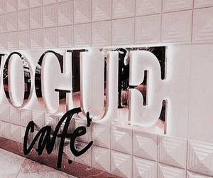 vogue, cafe, and rose gold image