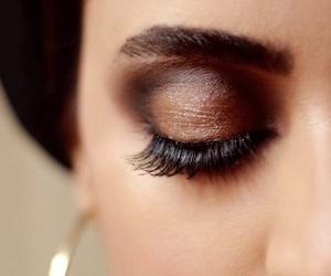 eyes, hijab, and lashes image
