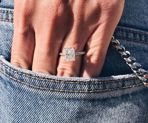 chic, engagement, and model image