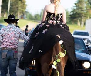 Cowgirl, heart, and Prom image