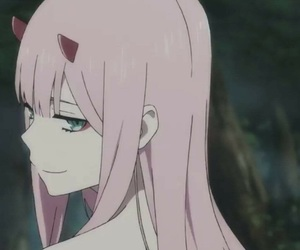 anime, icon, and pink image