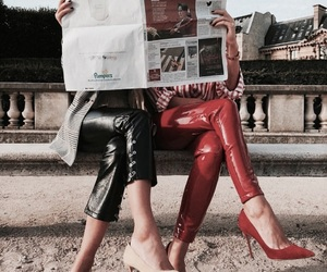fashion, red, and heels image