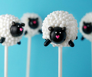 cakepop and sheep image