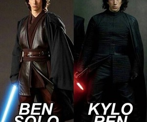 star wars, adamdriver, and ben solo image