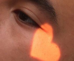 heart, aesthetic, and eye image